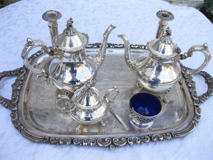 lucidatura argento