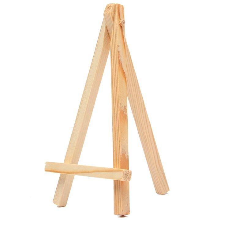 Cavalletto per dipingere realizzato in legno