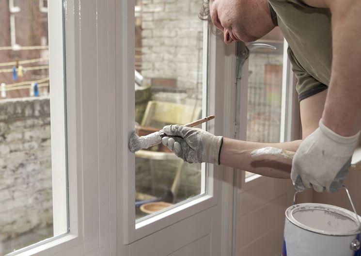 Come verniciare porte interne in legno - Verniciare le finestre ...