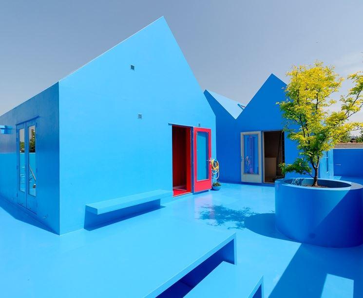 Pittura per esterni verniciare scegliere la pittura per esterno - Pittura esterna casa ...