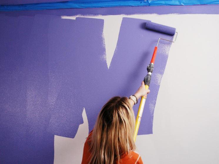 Verniciare con il rullo verniciare pitturare con il rullo for 2 piedi quadrati per garage