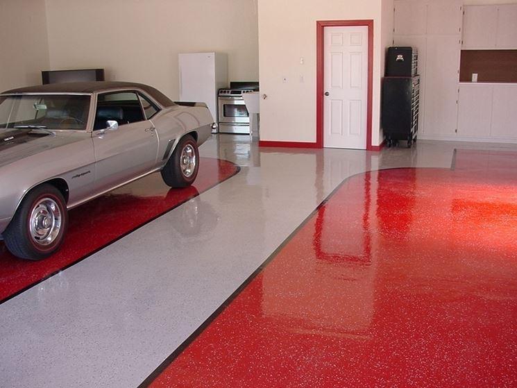 Verniciatura epossidica verniciare caratteristiche for Pittura per pavimenti