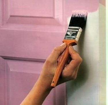 verniciatura delle porte