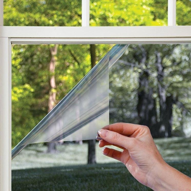 Pellicola per vetri