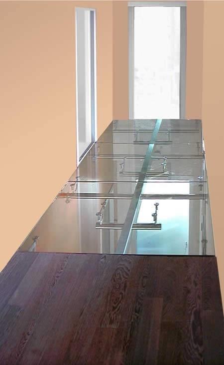 Vetro calpestabile vetro - Fai da te pavimento esterno ...