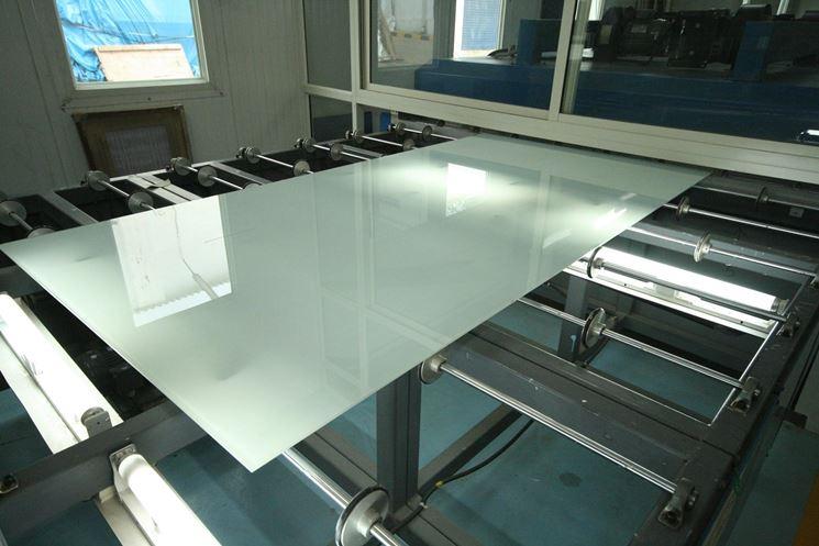 Produzione di vetro ceramico