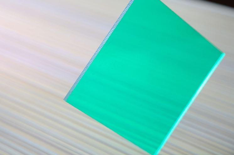 Pannello in vetro policarbonato