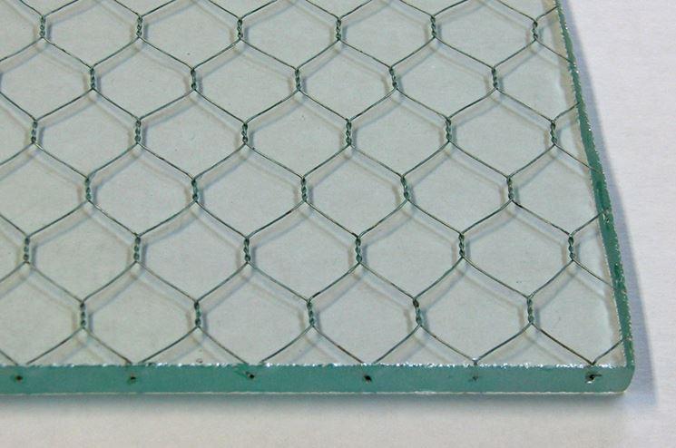 Vetro retinato vetro for Lastre vetro sintetico