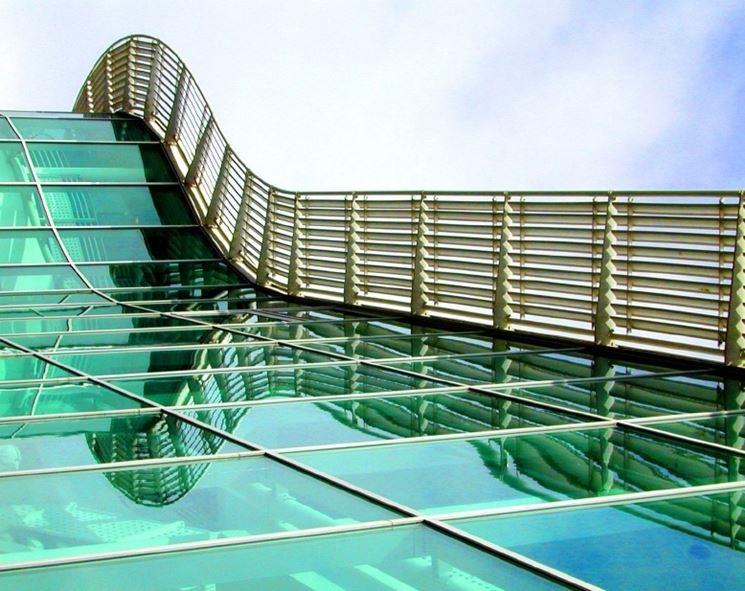 esempio impiego vetro stratificato