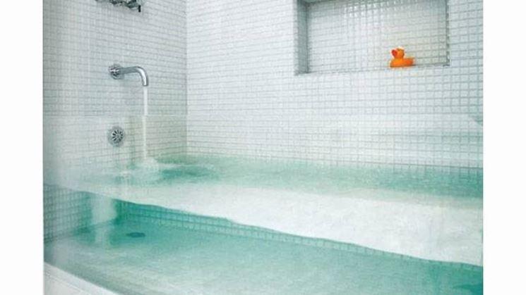 Vetro vasca da bagno vetro - Vasca da bagno in vetro ...