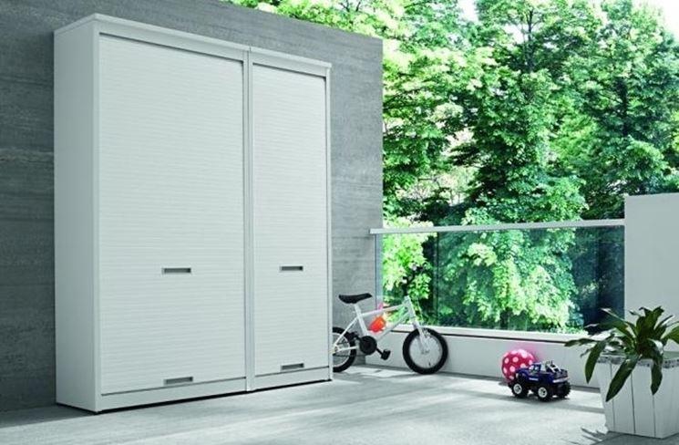 Armadi per esterno arredamento giardino i diversi tipi for Mobili in alluminio per esterni