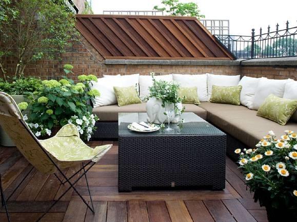 Arredamenti per terrazzi arredamento giardino for Arredamenti esterni per terrazzi