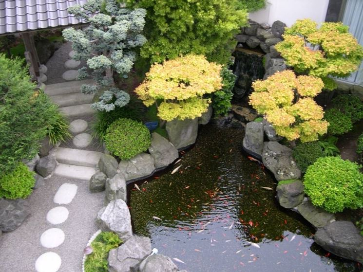 Giardini Con Pietre.Arredare Il Giardino Con Le Pietre Arredamento Giardino