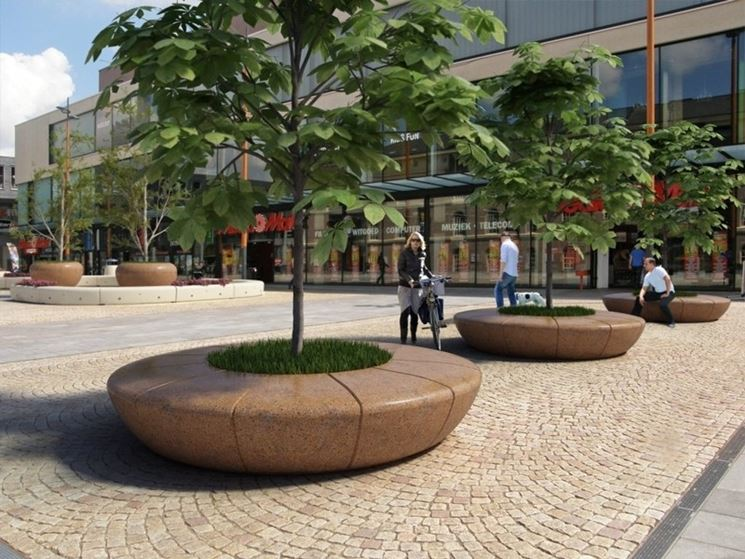 Arredi urbani di design arredamento giardino idee per for Un arredo urbano