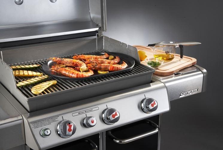 esempio barbecue a gas