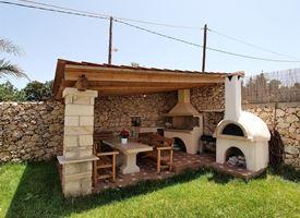 Fai da te bricolage - Angolo barbecue in giardino ...