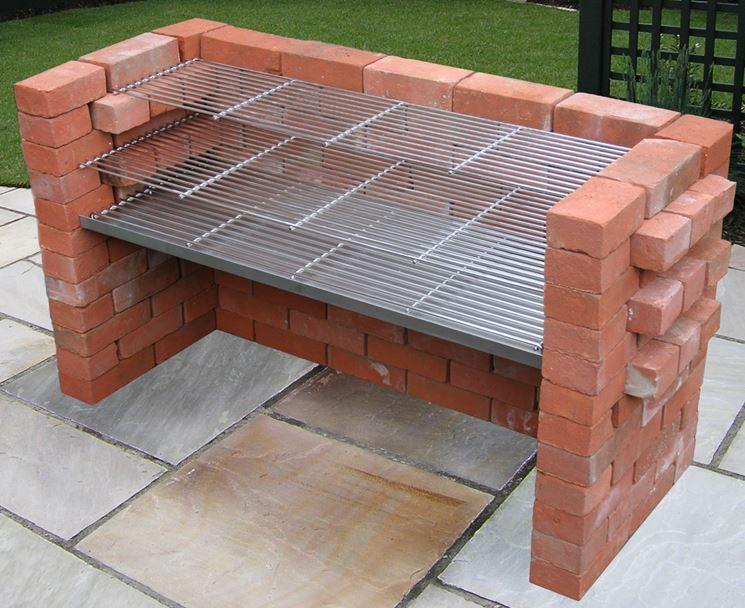 Costruire un barbecue professionale in muratura - Cucina in muratura fai da te ...
