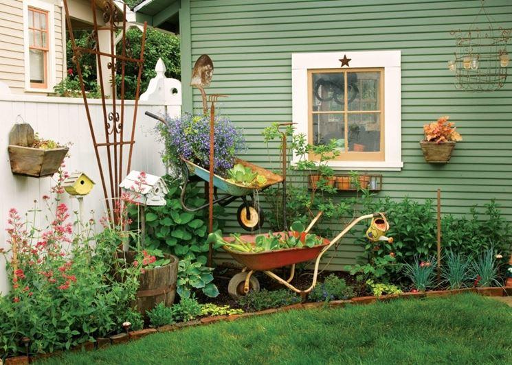 decorazioni giardino