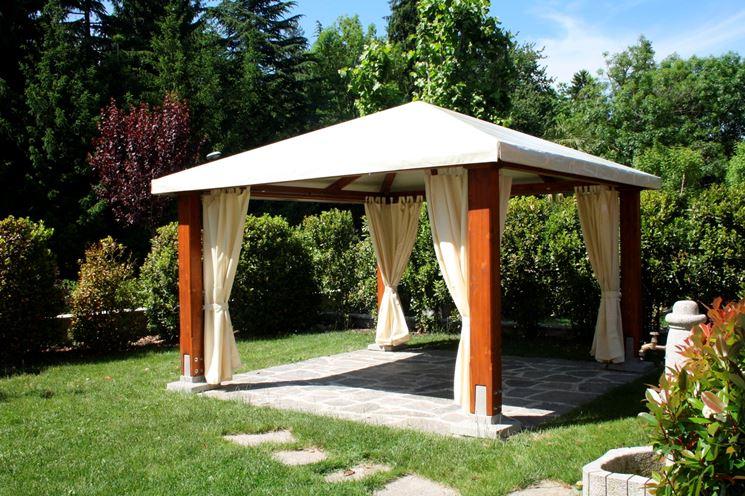 Gazebo fai da te arredamento giardino come realizzare for Gazebo legno arredamento
