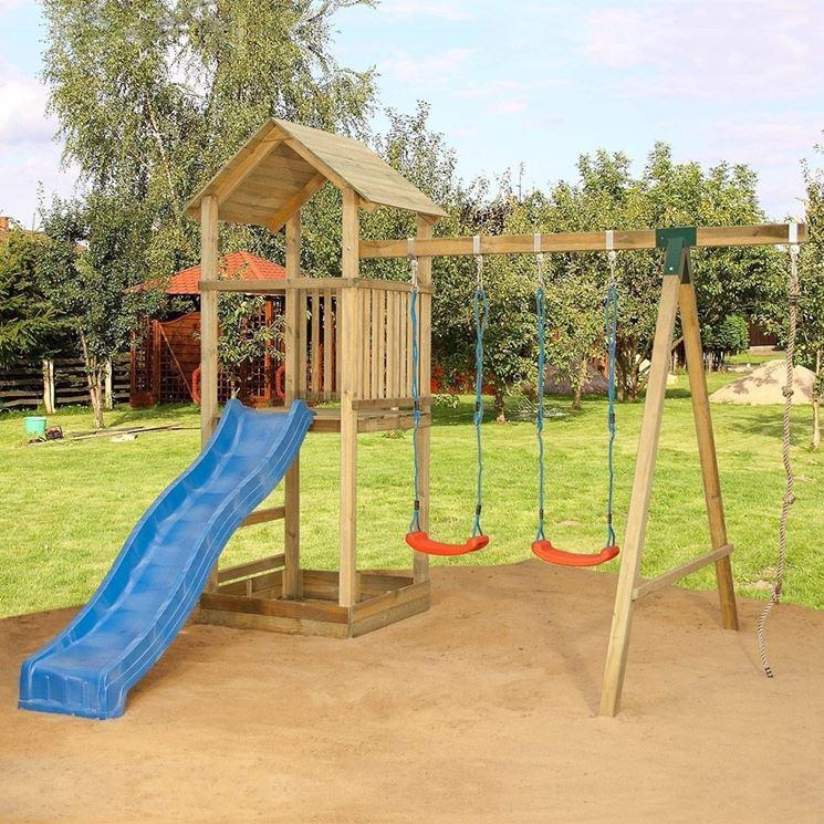 Giochi da esterno arredamento giardino - Altalene bambini per esterno ...