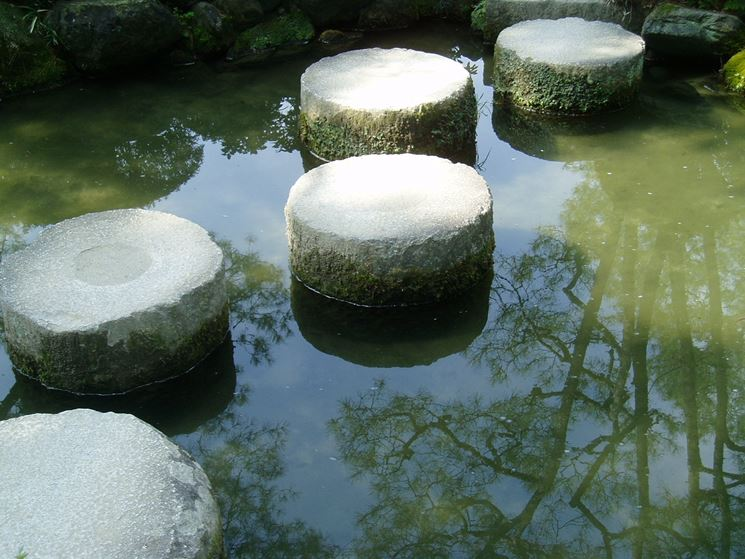 Laghetto zen arredamento giardino for Giardino zen prezzo