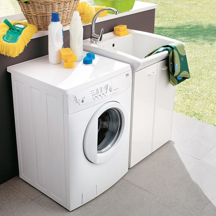 Il lavatoio, gioia dei più piccoli