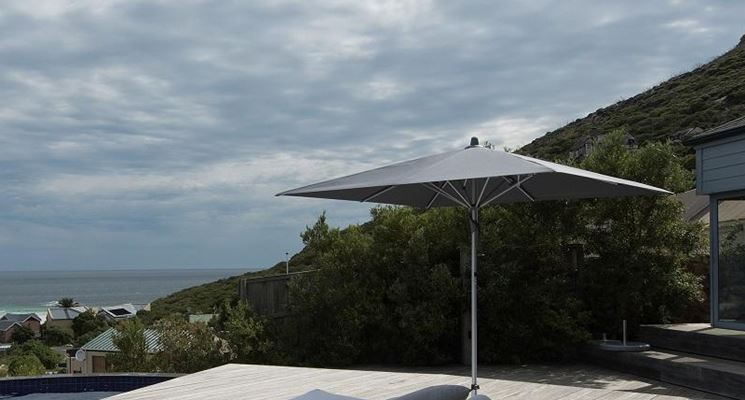 esempio di ombrellone
