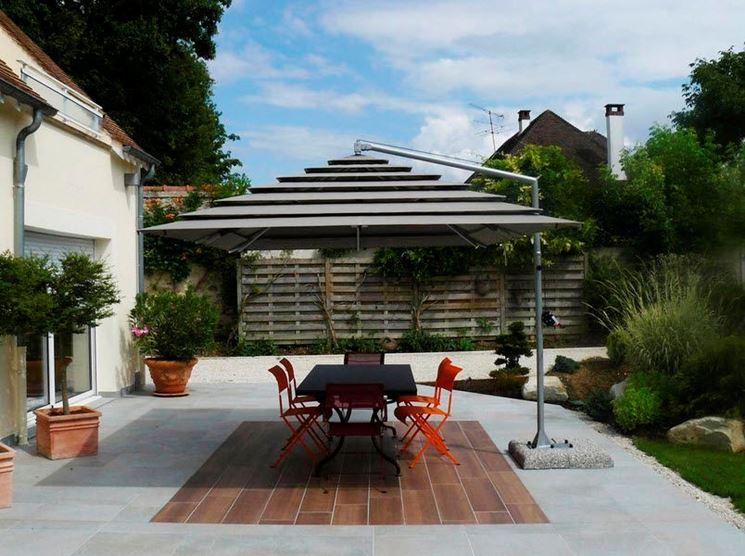 Awesome Ombrelloni Da Terrazzo Photos - Home Design Inspiration ...