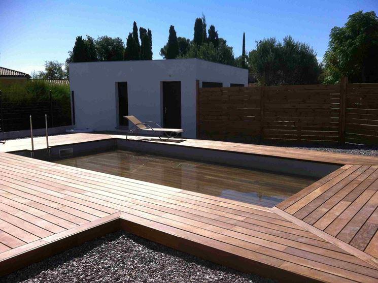 Pedane per esterni arredamento giardino pedana esterna for Arredi x esterni