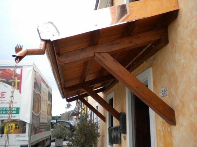 Pensiline in legno fai da te arredamento giardino for Costi dell appaltatore per la costruzione di una casa