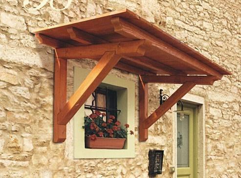 Pensiline in legno fai da te arredamento giardino - Casa in legno fai da te ...
