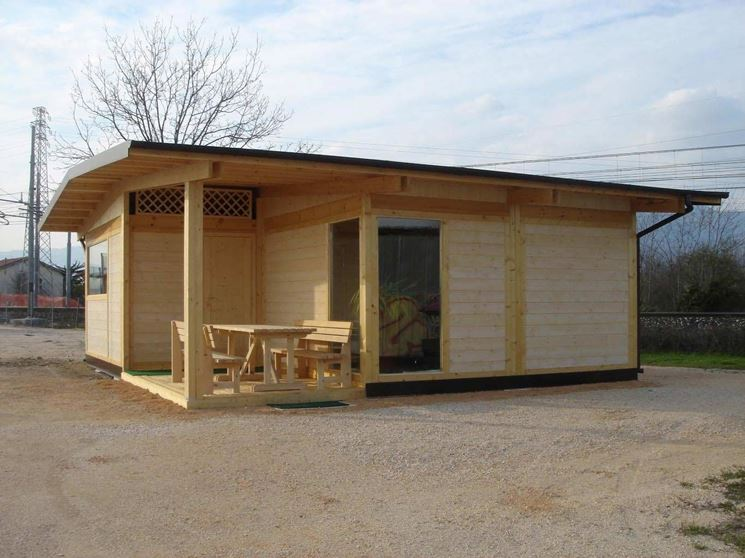 Case prefabbricate moderne casette - Prefabbricati da giardino ...