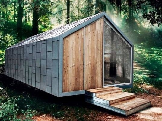Case prefabbricate su ruote casette for Casa mobile in legno