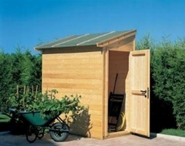 Casette addossate casette caratteristiche delle - Casette porta attrezzi da giardino ...