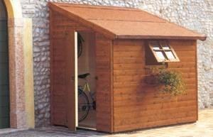 Casette attrezzi giardino casette for Legnaia con ripostiglio