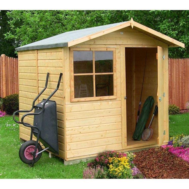 casa legno da giardino