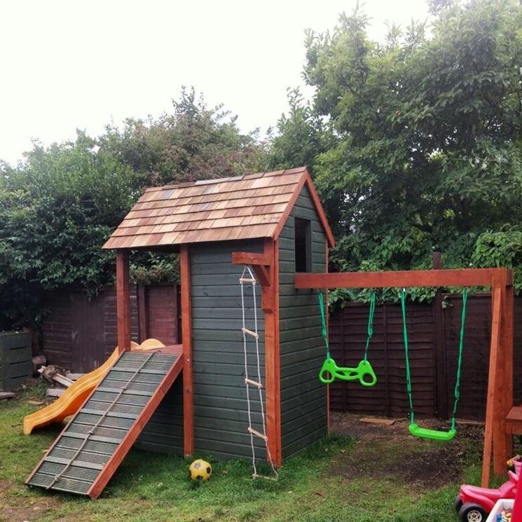 Casette di legno per bambini fai da te