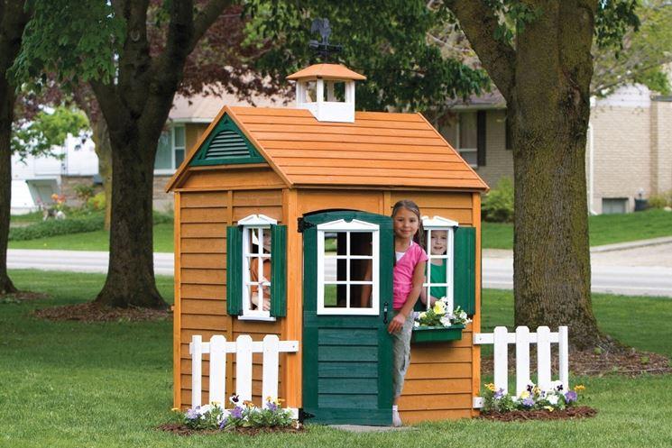casa per bambini da giardino