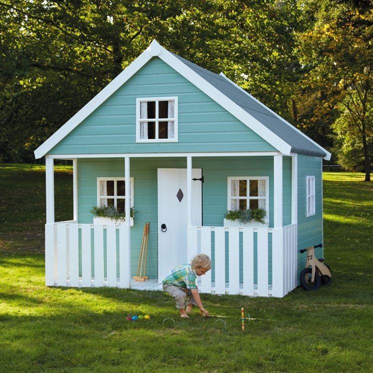 Casette per bambini casette costruire una casetta per bambini - Casette per bambini da giardino ...