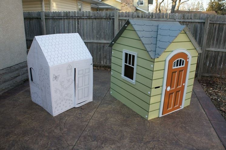 Casette per bambini casette costruire una casetta per - Casette di cartone da costruire ...