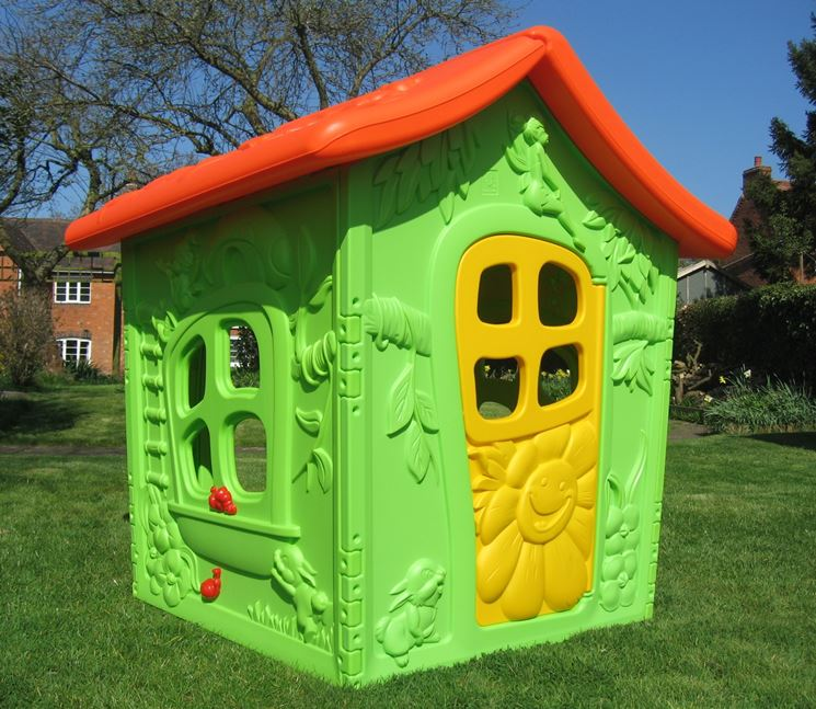 casetta in plastica per bambini