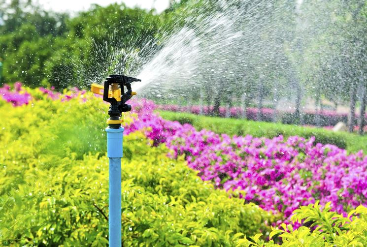 irrigazione per giardino