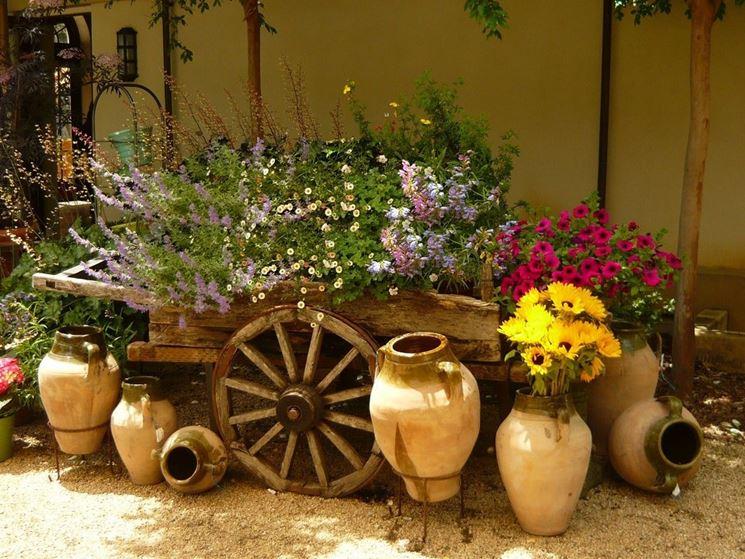 Idee creative per il giardino - Giardinaggio - idee per allestire il giardino