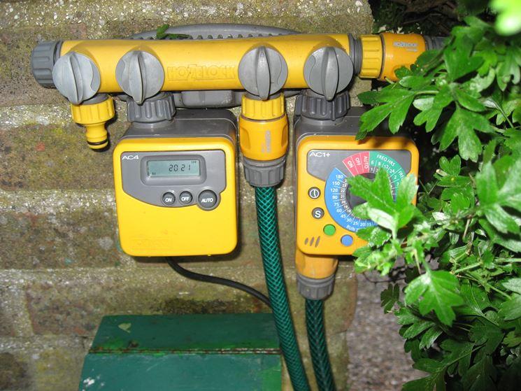 controllo per sistema irrigazione