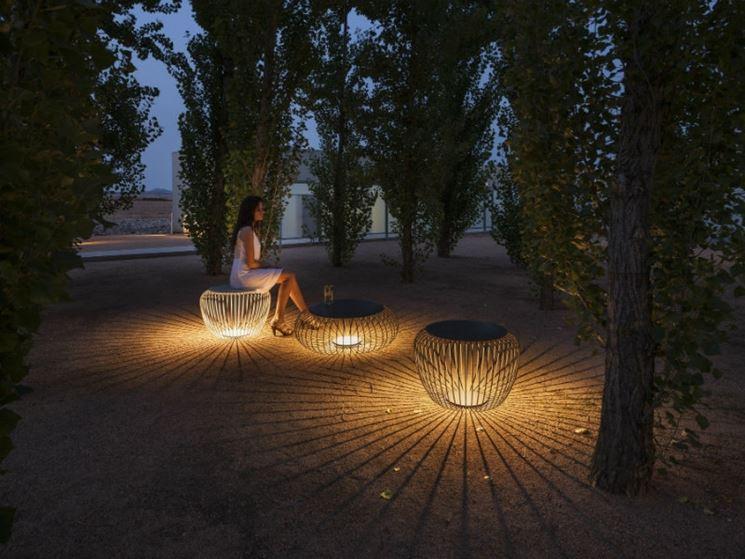 Illuminazione leroy merlin illuminazione giardino luci for Pavimento legno esterno leroy merlin