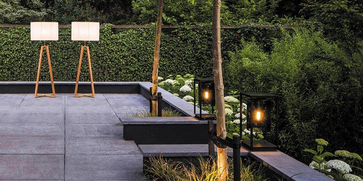 Illuminazione leroy merlin illuminazione giardino luci for Sdraio giardino leroy merlin
