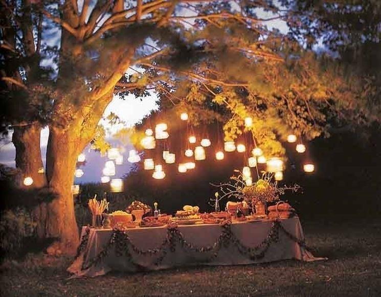 Mettere le luci in giardino illuminazione giardino scegliere