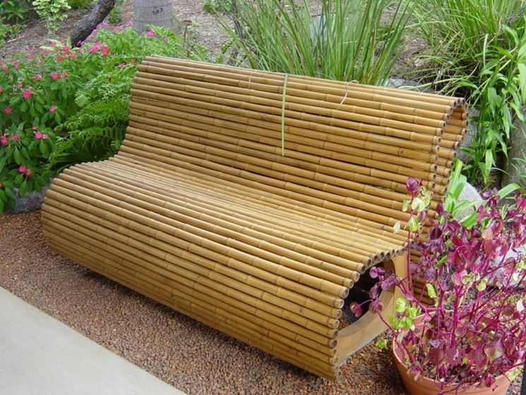 Articolo da giardino in bamboo