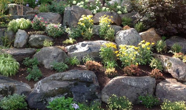 Pietre per giardino materiali per il giardino tipi di pietra per giardino - Realizzare un giardino ...