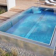 piscine acciaio